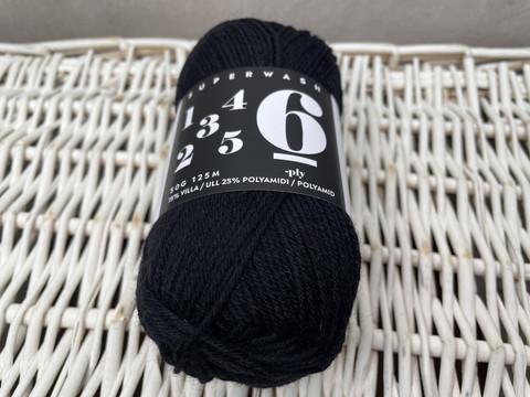 6-ply sukkalanka, black onyx