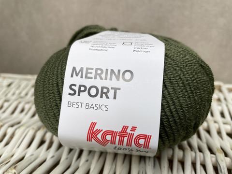 Katia Merino Sport , väri 53 khaki