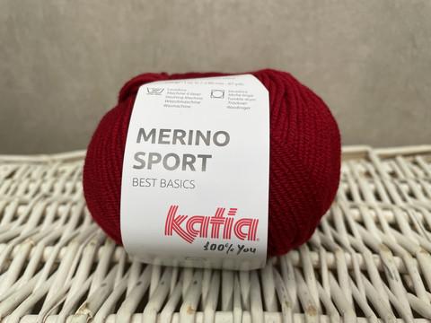 Katia Merino Sport , väri 21 maroon