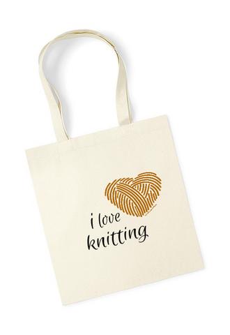 Neulojan kangaskassi, I love knitting sydänlanka