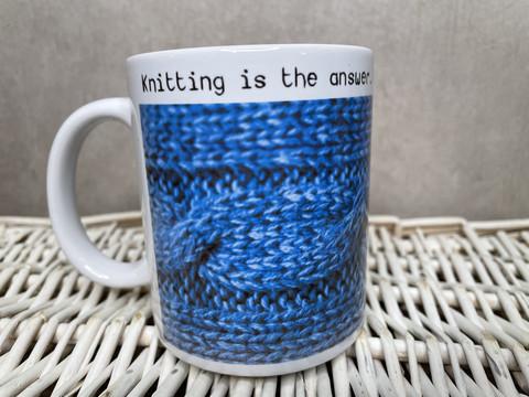 Neulojan muki, Knitting answer