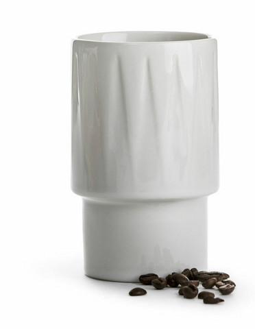 Coffee & More Lattemuki valkoinen