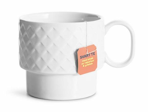 Coffee & More teemuki, valkoinen