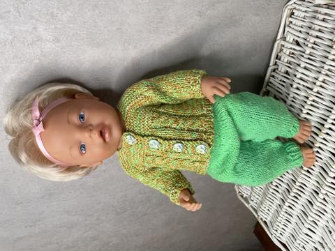 Nuken puku, vihreä