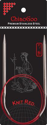 ChiaoGoo KNIT RED pyöröpuikot