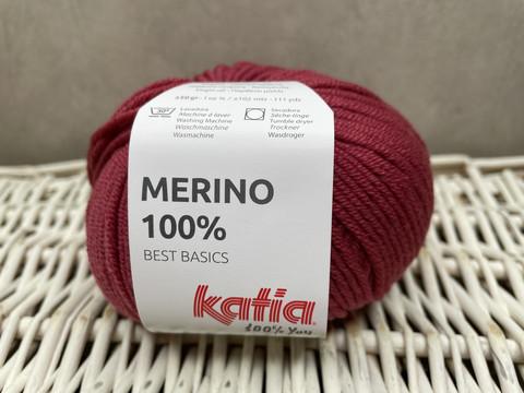 Katia Merino 100% , väri 79 marsala
