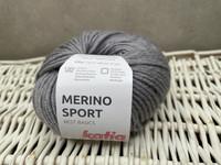 Katia Merino Sport , väri 401 vaalea harmaa