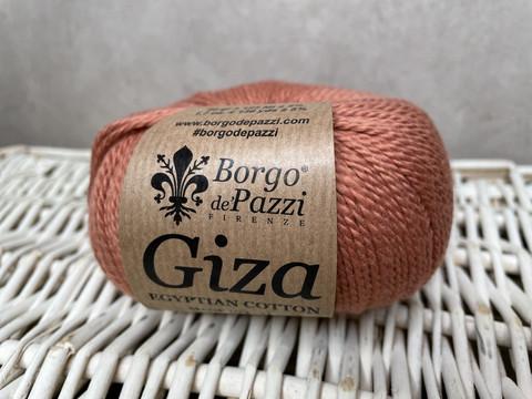 Borgo de Pazzi, Giza puuvillalanka väri 8 vaalea ruskean punainen