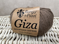 Borgo de Pazzi, Giza puuvillalanka väri 19 tumma beige