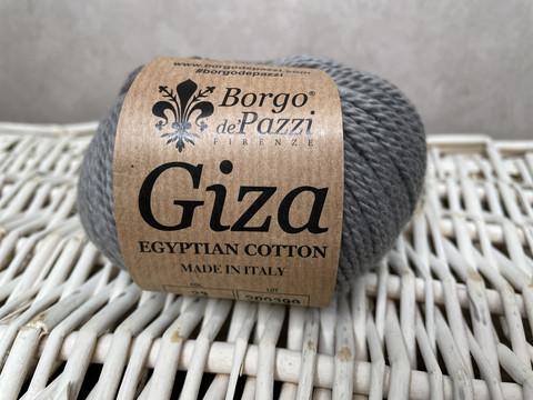Borgo de Pazzi, Giza puuvillalanka väri 23 sinisen harmaa