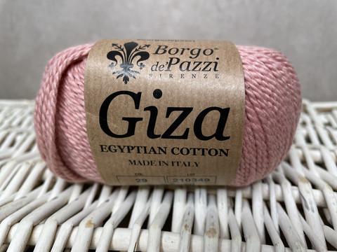 Borgo de Pazzi, Giza puuvillalanka väri 29 vaalean punainen