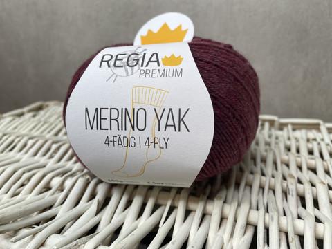 Regia Premium Merino Yak, väri 7508 Plum