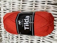 Svarta Fåret Tilda, väri 545 puna-oranssi
