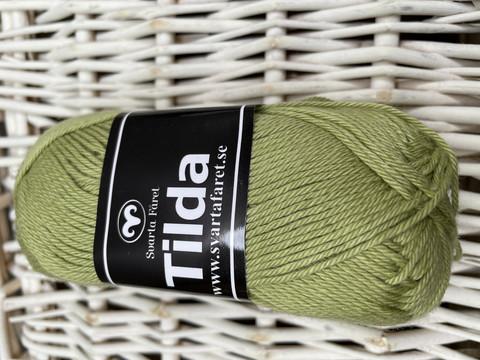Svarta Fåret Tilda, väri 538 kevään vihreä