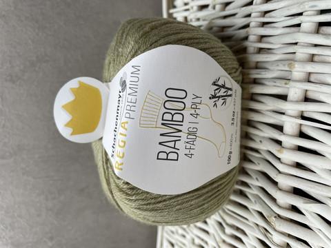 Regia premium bamboo, väri 0070 gras green