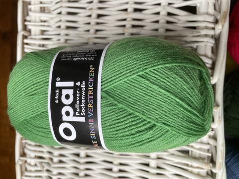 Opal yksivärinen 4-säikeinen , 1990 vihreä