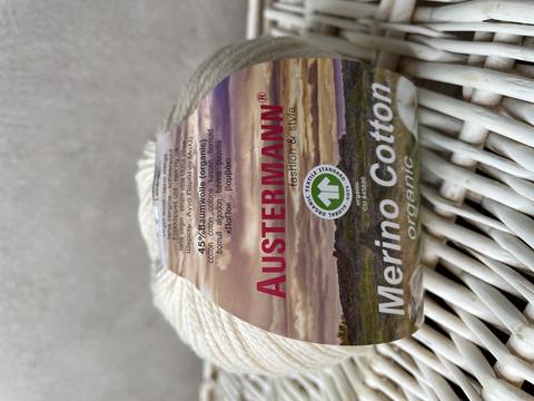 Austermann Merino Cotton, väri 0001