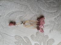 Silmukkamerkkisetti 4+1 :  vaaleanpunainen