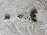 Silmukkamerkkisetti 3+1 : vihreä-sinertävä