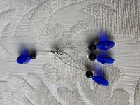 Silmukkamerkkisetti 3+1 : syvän sininen