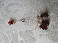 Silmukkamerkkisetti 3+1 : ruskea-oranssi