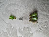 Silmukkamerkkisetti 3+1 : metsän vihreä
