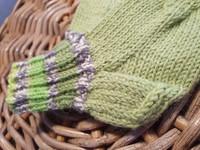 Lasten limen vihreät villasukat