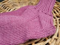 Naisten ruispuuron punaiset villasukat koko 38