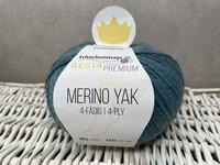 Regia Premium Merino Yak, väri 7518  Mineral blue