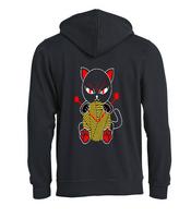 Punainen kissa vituttaako hupparitakki