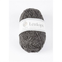 Lettlopi 10058 dark grey heather