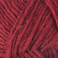 Lettlopi 11409 garnet red heather