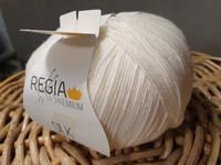 Regia premium Merino Silk, väri 0002 Natur