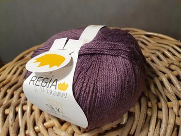 Regia premium Merino Silk, väri 0045 Feige