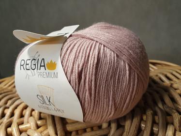 Regia premium Merino Silk, väri 0031 Rosé