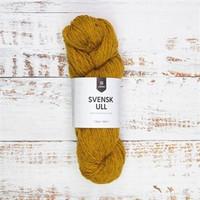 Svensk ull, väri 59007 Butter cup yellow