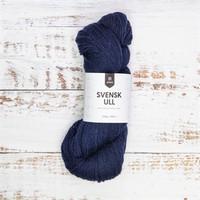 Svensk ull Bergslagen dark blue