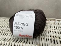 Katia Merino 100% , väri 502 teddy