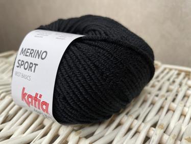 Katia Merino Sport , väri 02 musta