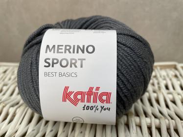 Katia Merino Sport , väri 11 tumman harmaa