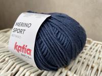 Katia Merino Sport , väri 12 tumman sininen