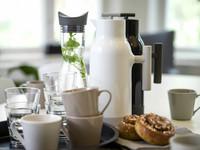Accent kahvikannu, valkoinen