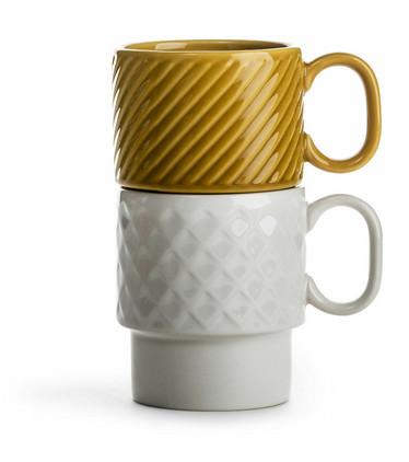 Coffee & More Kahvimuki, valkoinen