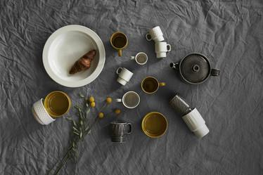 Coffee & More Lattemuki harmaa