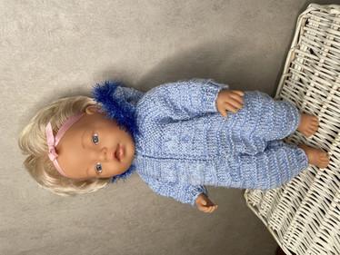 Nuken haalari, vaalean sininen
