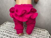Nuken housut röyhelöllä, pinkit