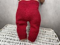 Nuken housut, punaiset