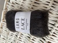 Lang yarns LACE 0070 hiilenharmaa
