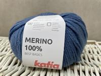 Katia Merino 100% , väri 58 farkku