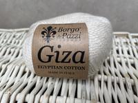 Borgo de Pazzi, Giza puuvillalanka väri 2 luonnonvalkoinen